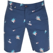 Product Image for Farah Vintage Hawk Print Shorts Navy