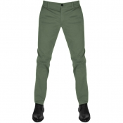 BOSS Casual Schino Slim D Chinos Green