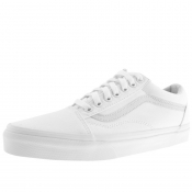 Vans Old Skool Canvas Trainers White