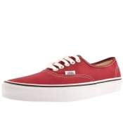Vans Authentic Trainers Burgundy