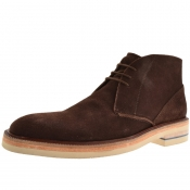 Sweeney London Vellow Boots Brown