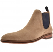 Sweeney London Allegro Chelsea Boots Beige