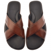 Product Image for Sweeney London Whitestone Flip Flops Brown
