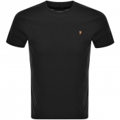 Product Image for Farah Vintage Denny T Shirt Black