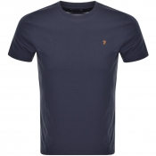 Product Image for Farah Vintage Denny T Shirt Navy