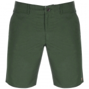 Farah Vintage Hawk Chino Shorts Green