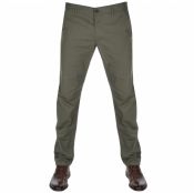 Farah Vintage Elm Chino Trousers Green