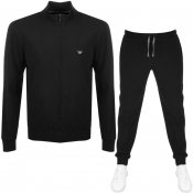 Product Image for Emporio Armani Lightweight Lounge Tracksuit Black