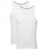 Product Image for Calvin Klein 2 Pack Vest T Shirts White