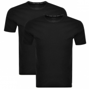 Product Image for Calvin Klein 2 Pack Crew Neck T Shirts Black