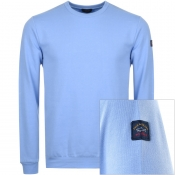 Product Image for Paul And Shark Crew Neck Sweatshirt Blue
