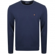 Product Image for Farah Vintage Pickwell Sweatshirt Navy