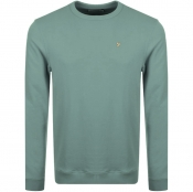 Product Image for Farah Vintage Pickwell Sweatshirt Green