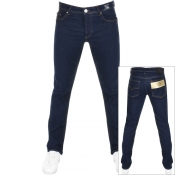 Product Image for Versace Jeans Slim Pocket Foil 19 Jeans Dark Blue