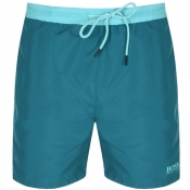 Product Image for BOSS HUGO BOSS Starfish Swim Shorts Green