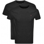 Product Image for Farah Vintage Pinehurst Double Pack T Shirts Black