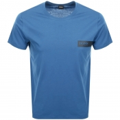 BOSS HUGO BOSS Crew Neck T Shirt Blue