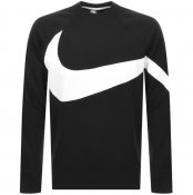 Nike Crew Neck Logo Sweatshirt Black