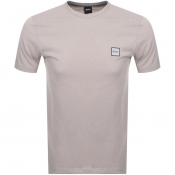 BOSS Casual Tales T Shirt Beige