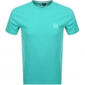 BOSS Casual Tales T Shirt Green