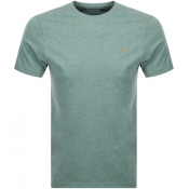 Product Image for Farah Vintage Denny Slim Marl T Shirt Green