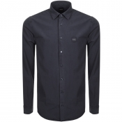 BOSS Casual Mypop Shirt Navy
