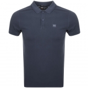 BOSS Casual Prime Polo T Shirt Blue