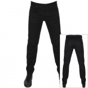 BOSS Casual Delaware Slim Fit Jeans Black