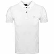 Product Image for BOSS Casual Prime Polo T Shirt White