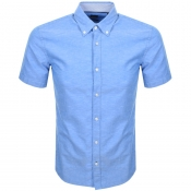 BOSS HUGO BOSS Roddy Short Sleeve Shirt Blue