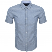 BOSS HUGO BOSS Roddy Short Sleeve Shirt Navy