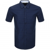 Product Image for BOSS HUGO BOSS Ronn 2 Short Sleeve Shirt Navy