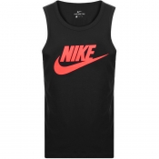 Nike Futura Icon Logo Vest T Shirt Black