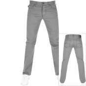 Emporio Armani J21 Regular Fit Stretch Jeans Grey