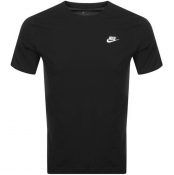 Nike Crew Neck Club T Shirt Black
