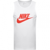 Product Image for Nike Futura Icon Logo Vest T Shirt White