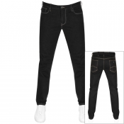 Emporio Armani J06 Slim Fit Jeans Black
