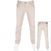 Product Image for Emporio Armani J45 Regular Fit Jeans Beige