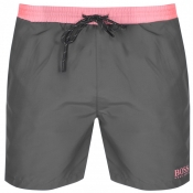 BOSS HUGO BOSS Starfish Swim Shorts Grey