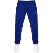 Nike Club Tapered Fit Jogging Bottoms Blue