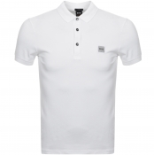 BOSS Casual Passenger Polo T Shirt White