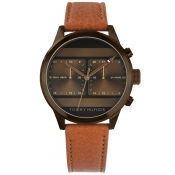 Product Image for Tommy Hilfiger Icon Dual Watch Brown