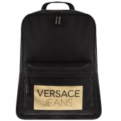 Product Image for Versace Jeans Logo Backpack Black
