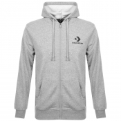 Product Image for Converse All Star Full Zip Logo Hoodie Grey
