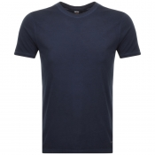 BOSS Casual Troy T Shirt Navy