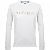 Product Image for BOSS Casual Weaver Knit Jumper Cream