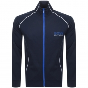 Product Image for BOSS HUGO BOSS Full Zip Sweatshirt Navy