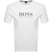 Product Image for BOSS HUGO BOSS Relax Logo T Shirt White