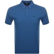 BOSS HUGO BOSS Pallas Polo T Shirt Blue