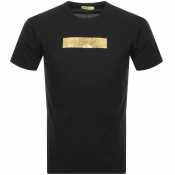 Product Image for Versace Jeans Crew Neck Logo T Shirt Black